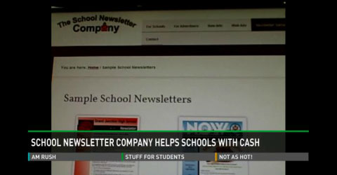 School Newsletter Saves Money